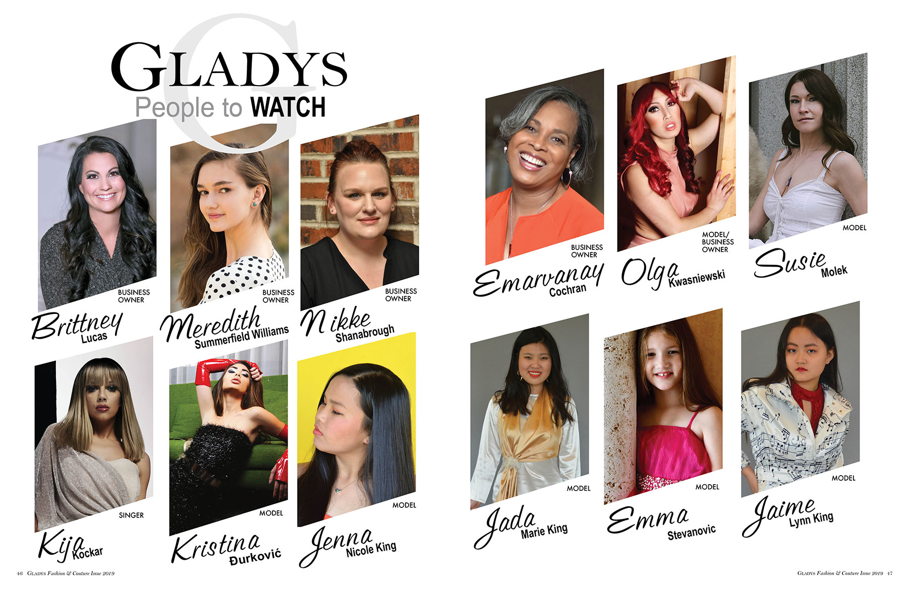 Gladys People to Watch