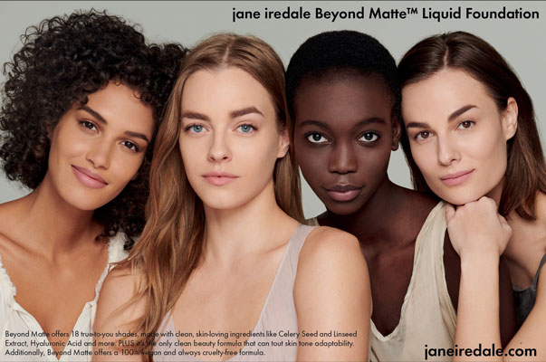 Jane iredale Ad page